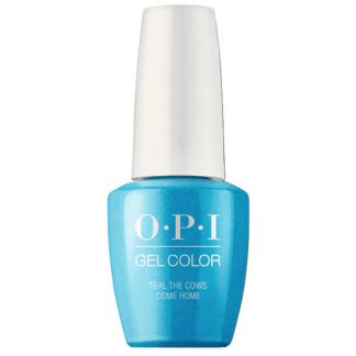 B54  - OPI GEL COLOR -  TEAL THE COWS COME HOME