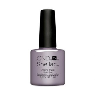CND SHELLAC-ALPINE PLUM