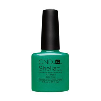 CND SHELLAC-ART BASIL