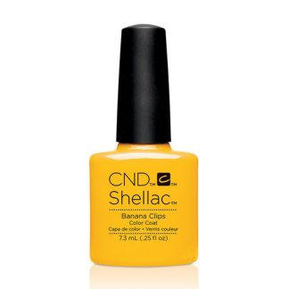 CND SHELLAC-BANANA CLIPS