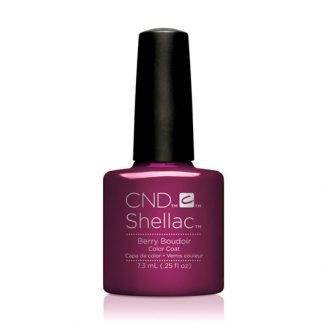 CND SHELLAC-BERRY BOUDOIR