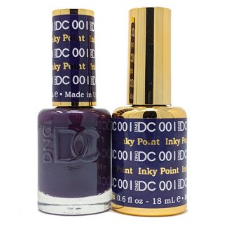 DND DC Duo Gel - Inky Point - 001