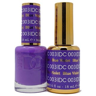DND DC Duo Gel - Blue Violet - 003