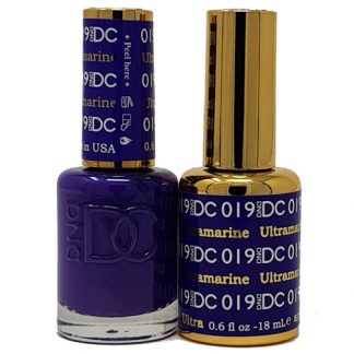 DND DC Duo Gel - Ultramarine - 019