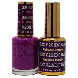 DND DC Duo Gel - Rebecca Purple - 020