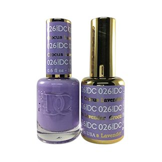 DND DC Duo Gel - Crocus Lavender - 026
