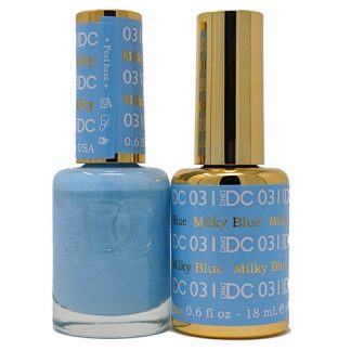 DND DC Duo Gel - Milky Blue - 031