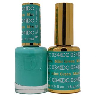 DND DC Duo Gel - Mint Green - 034