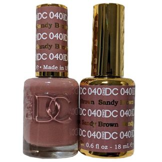 DND DC Duo Gel - Sandy Brown - 040