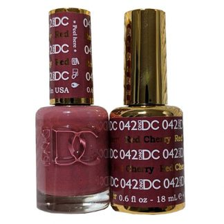 DND DC Duo Gel - Red Cherry - 042