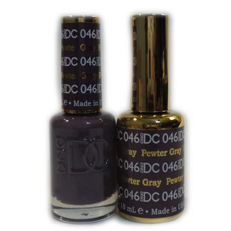 DND DC Duo Gel - Pewter Gray - 046