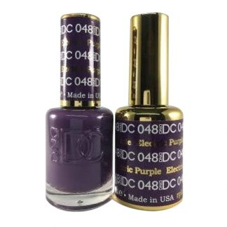 DND DC Duo Gel - Electric Purple - 048