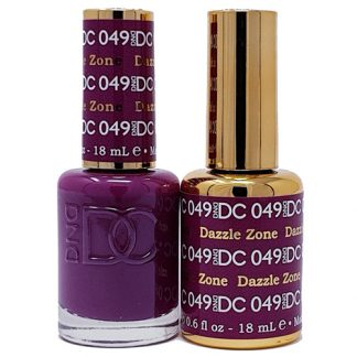 DND DC Duo Gel - Dazzle Zone - 049