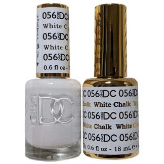 DND DC Duo Gel - White Chalk - 056