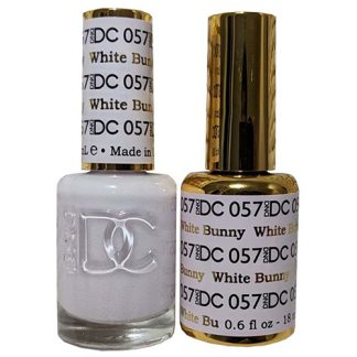 DND DC Duo Gel - White Bunny - 057