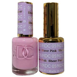 DND DC Duo Gel - Sheer Pink - 059