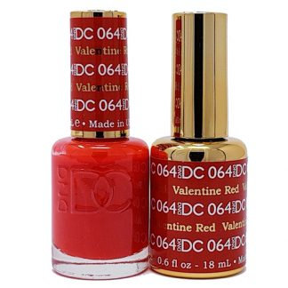 DND DC Duo Gel - Valentine Red - 064