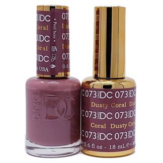 DND DC Duo Gel - Dusty Coral - 073