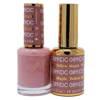 DND DC Duo Gel - Yellow Maple - 089