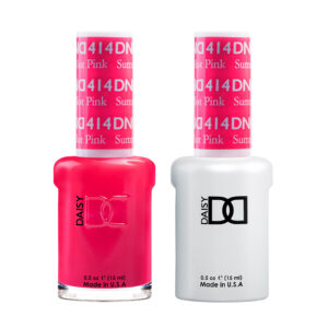 DND Duo Gel-Summer Hot Pink-414