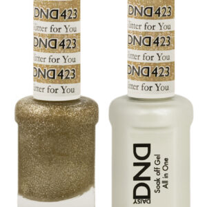 DND Duo Gel-Glitter For You-423