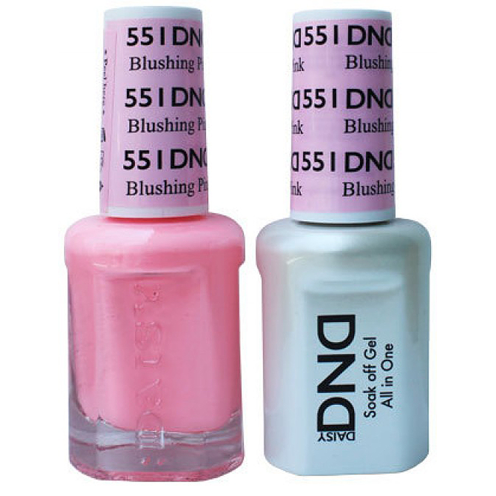 DND Duo Gel-Blushing Pink-551 - VL London