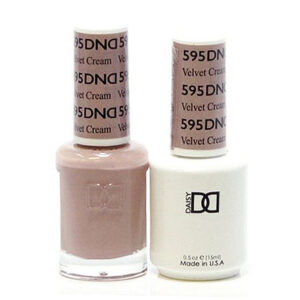 DND Duo Gel-Velvet Cream-595