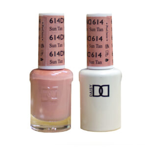 DND Duo Gel-Sun Tan-614