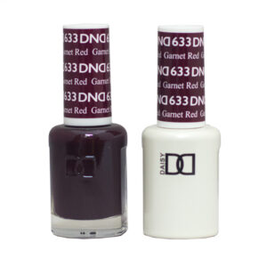 DND Duo Gel-Garnet Red-633