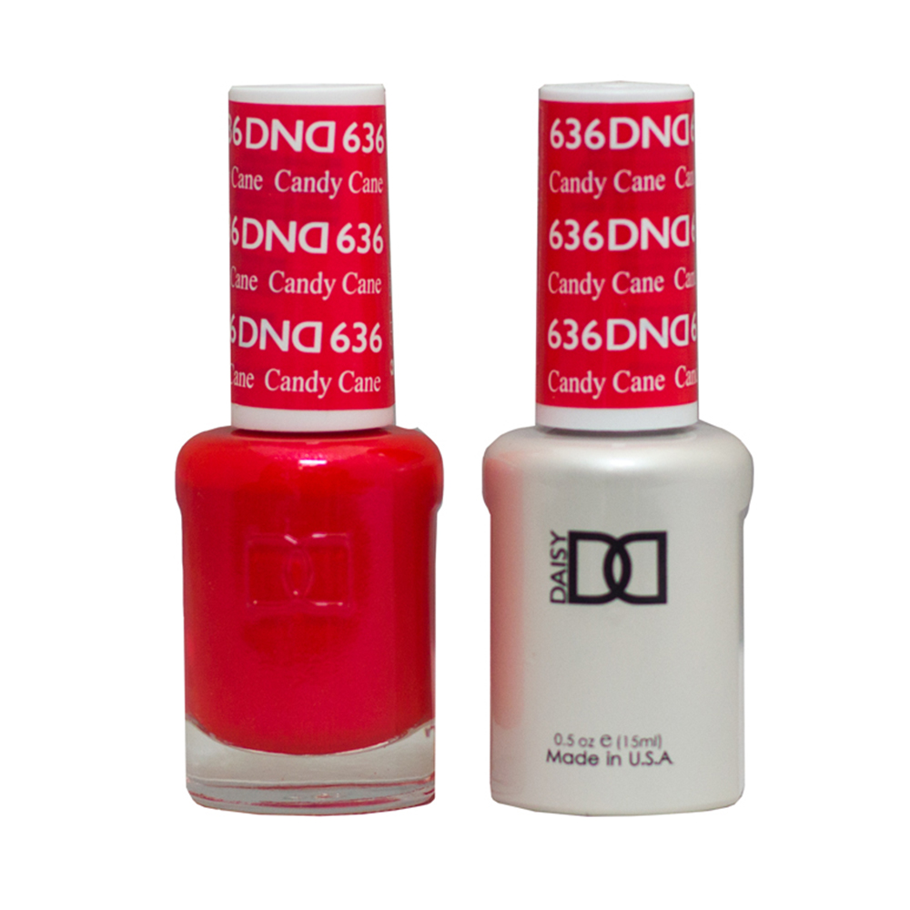 DND Duo Gel-Candy Cane-636