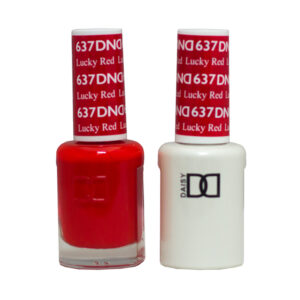 DND Duo Gel-Lucky Red-637